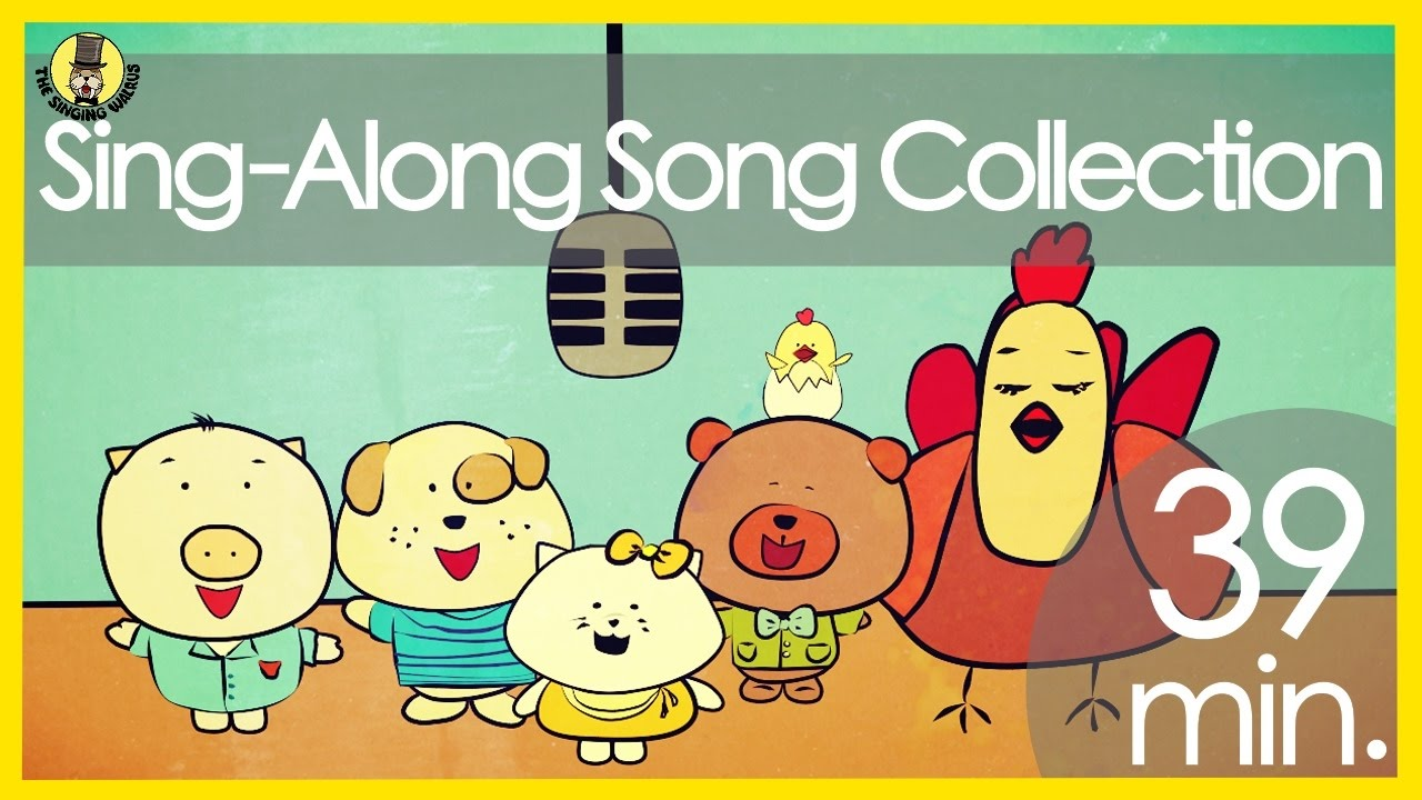 sing along songs for kids the singing walrus 39 minutes youtube. Black Bedroom Furniture Sets. Home Design Ideas