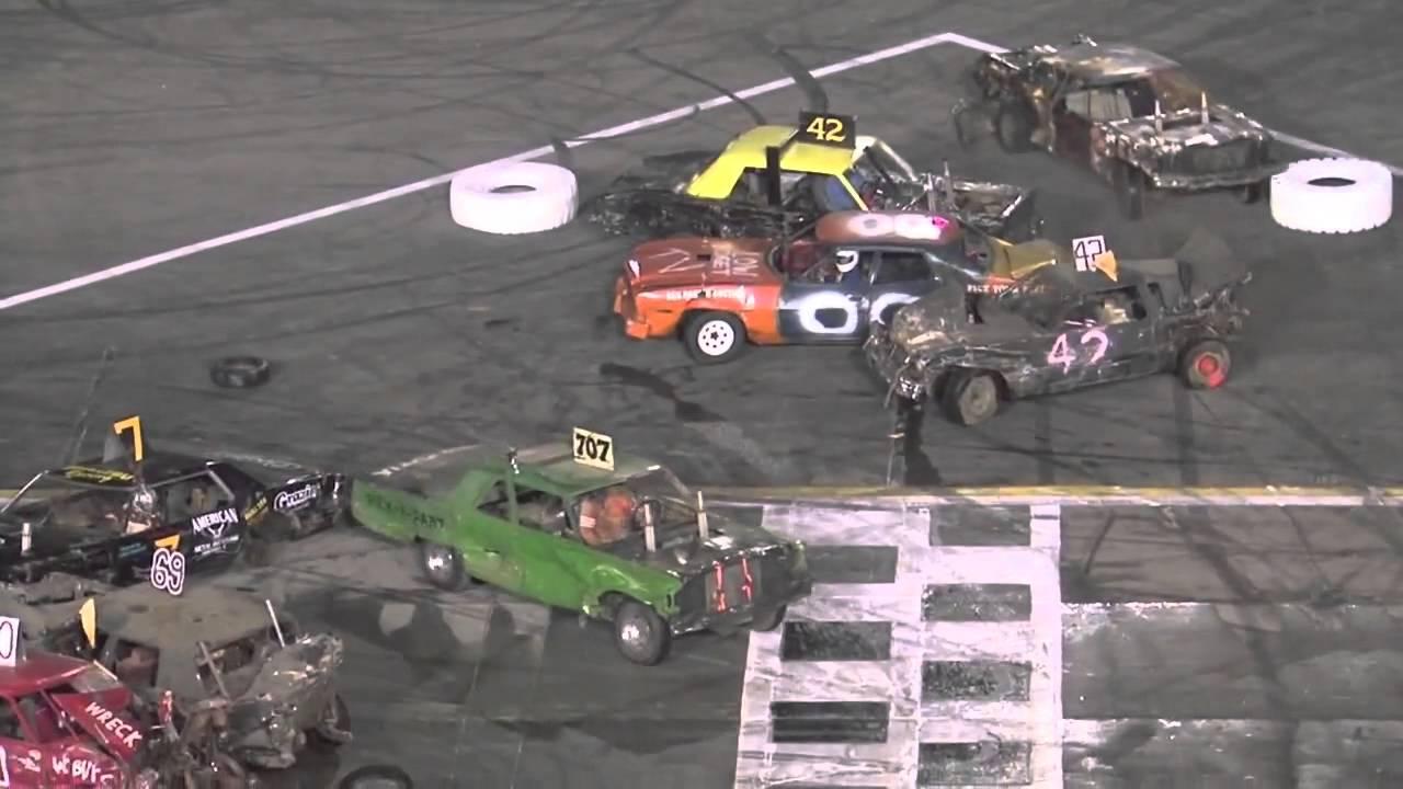 Demolition Derby - Irwindale Speedway - April 6, 2013