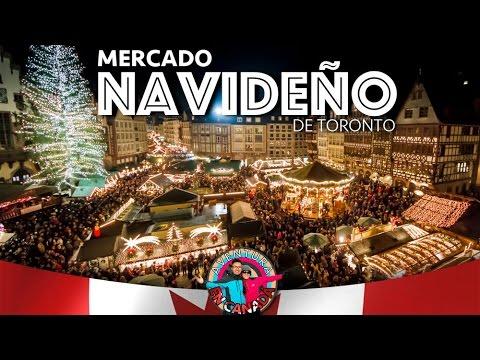 EP.21 Mercado Navideño De Toronto | AVENTURA EN CANADÁ