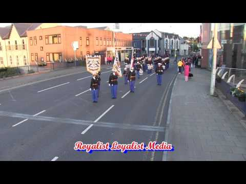 Red Hand Defenders FB @ Omagh Protestant Boys FB Parade 2017