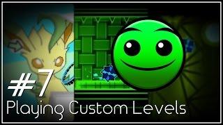 EEVEE (ft. BoldStep) - Playing Custom Levels [#7] | Geometry Dash [2.1]
