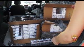 Столичные полицейские изъяли более 15 тонн контрафактных сигарет