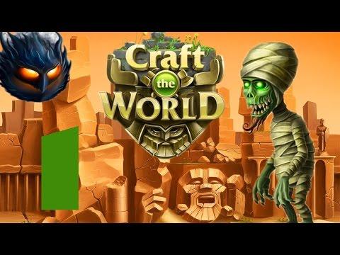 Прохождение Craft The World (уровень 3) #1 - Эра Торнадо