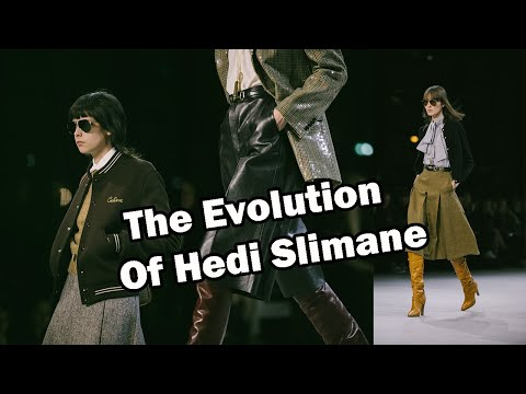 Is Hedi Slimane Changing?   Celine Fall 2019 Review
