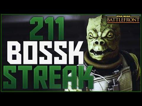 Battlefront 1 211 Bossk Killstreak Gameplay On Endor