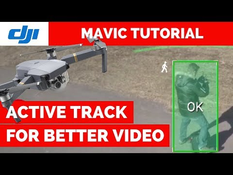 Active Track for CINEMATIC footage - DJI Mavic Pro Active Track Tutorial