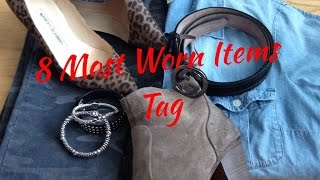 8 Most Worn Items Tag   2014 Thumbnail
