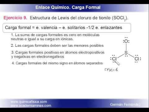 Estructura De Lewis Del Cloruro De Tionilo Socl 2