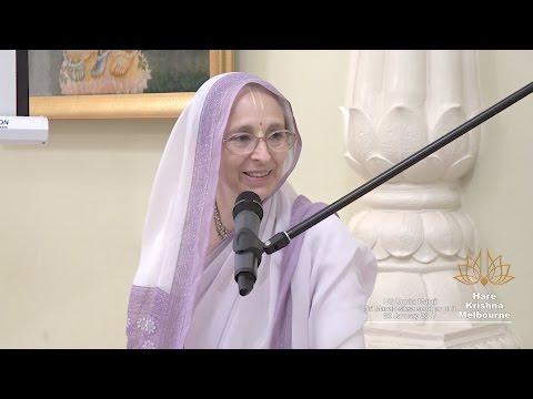 Sri Manah-siksa seminar pt 3 - HG Urmila Mataji