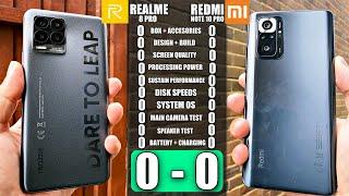 REALME 8 PRO VS Redmi Note 10 PRO - Ultimate Smartphone Comparison! Clash of the Mid-rangers!