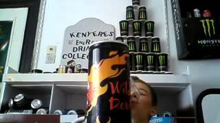 Kenyeres Energy Drink Collection-Wild Devil Teszt