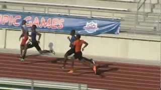 Dakarie McKinnie Motor City Track Club 2012 AAU Junior Olympic Games 400m semi 46.85 8/3/12