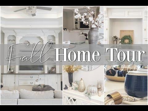 2018 FALL HOME TOUR || Living Room & Kitchen || HOME DECOR & ORGANIZATION