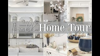 2018 FALL HOME TOUR || Living Room & Kitchen || HOME DECOR & ORGANIZATION
