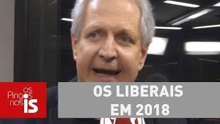 Os liberais em 2018: Bolsonaro com Paulo Guedes, João Amoêdo com Gustavo Franco