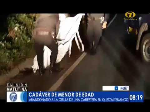 Hallan cadáver de un menor de edad en Quetzaltenango