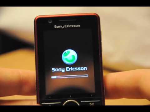 Test Sony Ericsson tactile G900 (Partie 1/2)