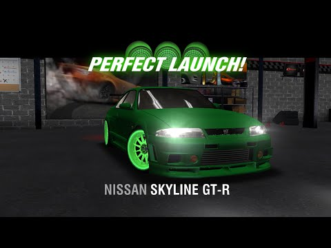 Racing Rivals Nissan Skyline GT-R Perfect Launch Tutorial