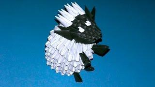 Как сделать барашка из бумаги. Модульное оригами овечка (Барашек Шон) мастер класс (мк)
