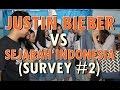 Justin Bieber Vs Sejarah Indonesia Survey 2