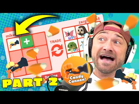 Will I Trade My Candy Canon? WOW! *Roblox Adopt Me*