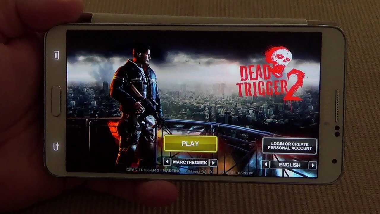 Dead Trigger 2 For Android Gamepad Support Hands On Youtube