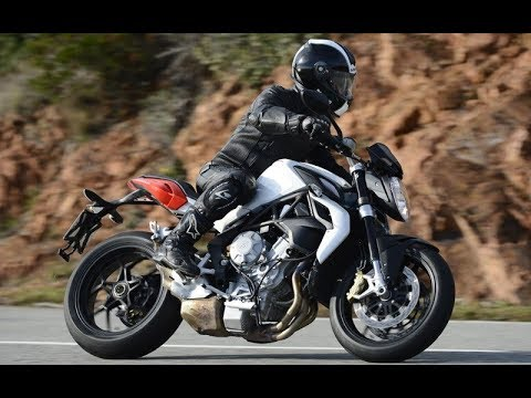 MV Agusta Brutale 800 acceleration and exhaust sound