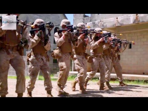 US Marines Urban Warfare: Military Operations in Urban Terrain Training (MOUT)