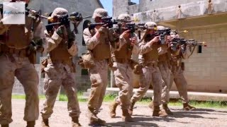 US Marines Urban Warfare: Military Operations in Urban Terrain Training (MOUT)