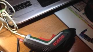 BOSCH DIY: IXO-V + зарядка от компьютера