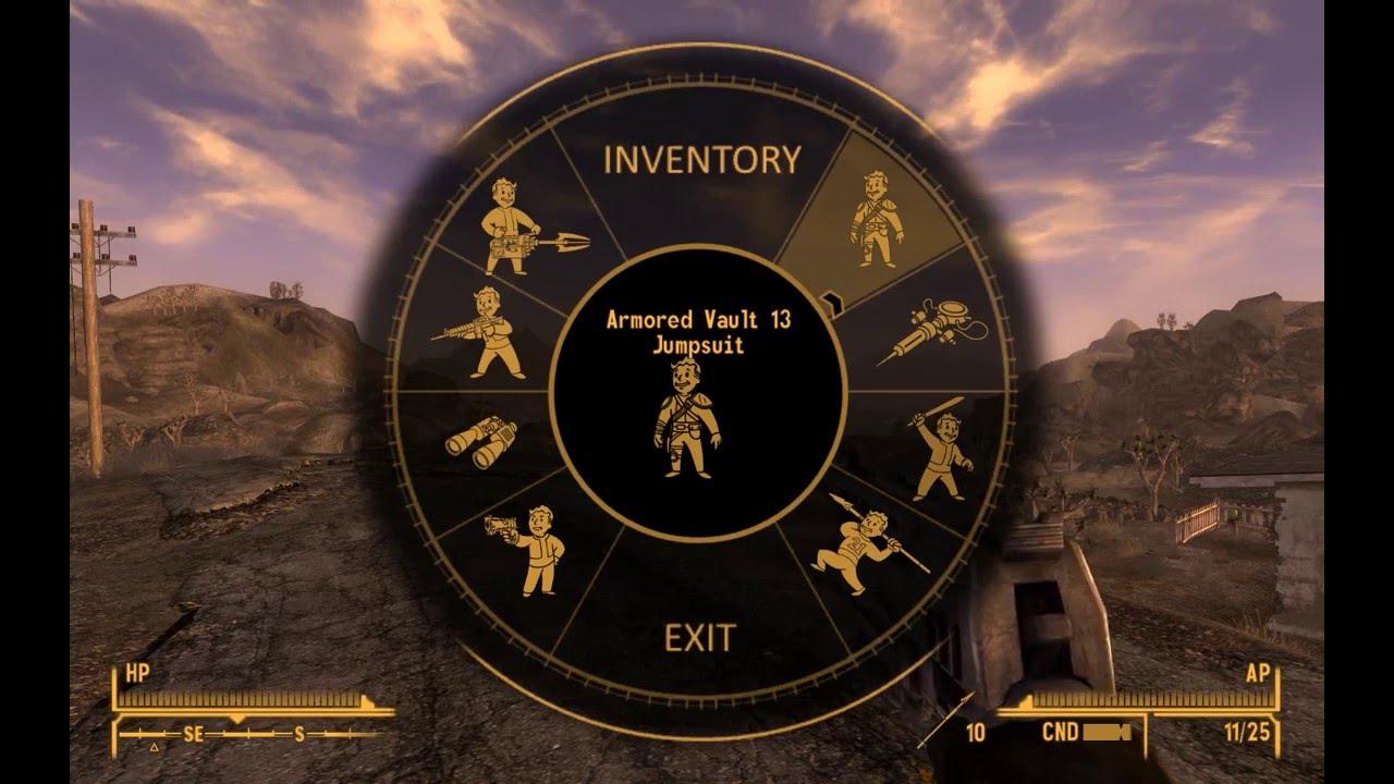 Lazarus Project Fallout New Vegas Vats Criticals Weapon Wheel