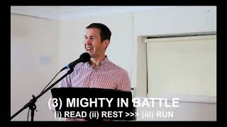(3) MIGHTY IN BATTLE - Run by God's Promises!
