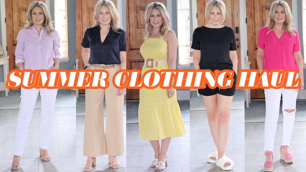Summer Clothing Haul   Amazon   Dillard's   WHBM   Chico's   MsGoldgirl