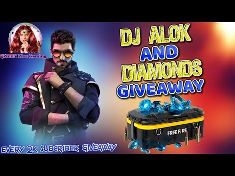 Free Fire Live - Free Fire DJ Alok - Total Gaming - Gyan Gaming - QUEEN Live Gaming