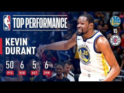 Kevin Durant's EPIC 50 Point-Performance In Game 6 | April 26, 2019