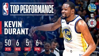 Download Kevin Durant's EPIC 50 Point-Performance In Game 6 | April 26, 2019 Mp3 and Videos