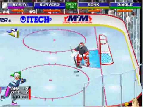 NHL Open Ice 2 on 2 Challenge - Arcade GamePlay