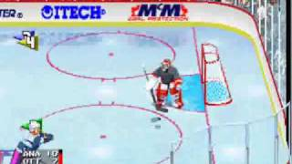NHL Open Ice 2 on 2 Challenge - Arcade GamePlay