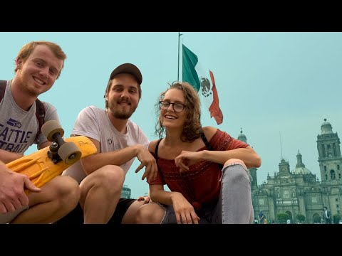 MUST SEE MEXICO CITY (castles, cathedrals, ruins)  | Hello Mexico, Ep. 17 // a van life series