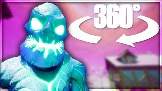 🕶 Fortnite Ice Zombies in Virtual Reality - 360° Experience