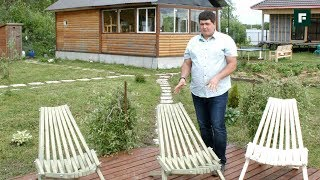 Садовая мебель из дерева своими руками. Проверенные идеи