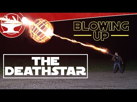 Testing Han Solo's Blaster (BLOWING UP A DEATHSTAR!)