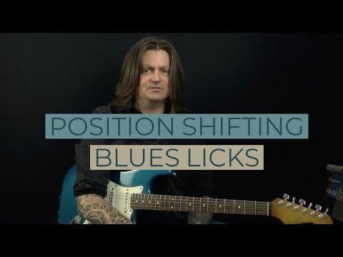 Lickorama Ep3 Position Shifting Blues Lick