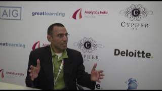 Cypher 2016 | Interview with Prasad Y, CEO of HIDDIME.COM – Cloud Analytics Service