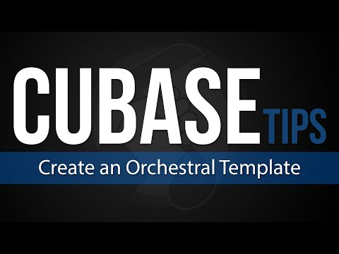 Cubase Tips: How To Create an Orchestral Template (LIVE)