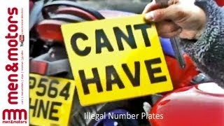 Illegal Number Plates