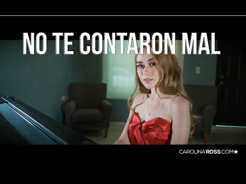 No te contaron mal - Christian Nodal (Carolina Ross cover)
