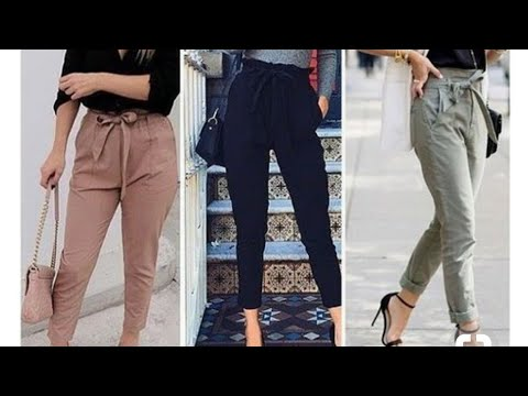 Latest Trouser pants for girls 2018|collage outfits for girl