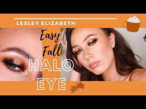 Easy Fall Halo Eye    Jaclyn Hill + James Charles Palettes    P. Louise Base thumbnail