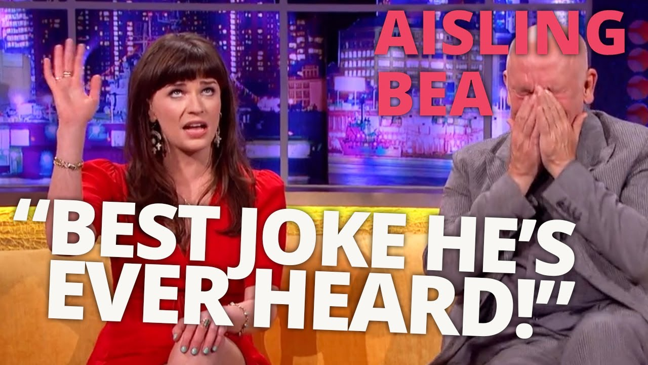 Download Aisling Bea's Story Has John Malkovich in Stitches | Aisling Bea On The Jonathan Ross Show